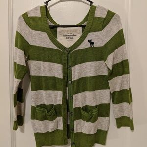 Abercrombie & Fitch quarter sleeves cardigan